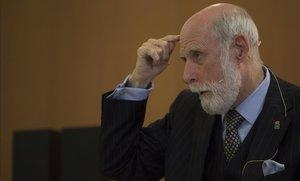 Vinton Cerf, un dels pares d'internet, guanya el Premi Internacional Catalunya