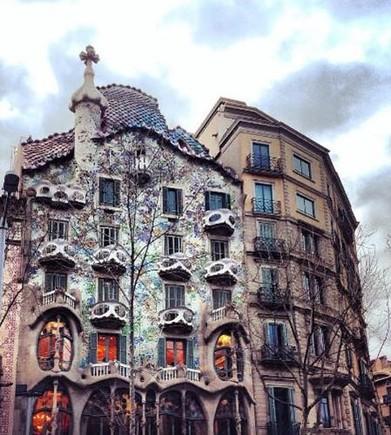 Una Barcelona de postal