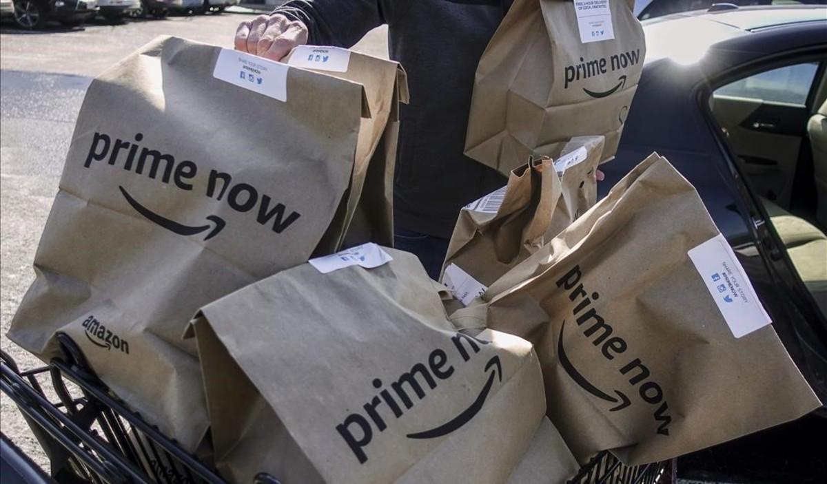 Amazon escalfa la distribució amb el seu 'prime day' en plenes rebaixes