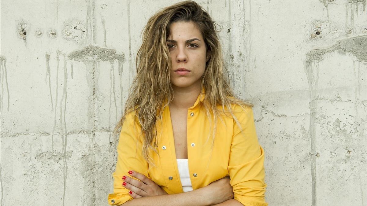 La extriunfita Miriam Rodríguez, caracterizada como reclusa en la serie de Fox Vis a vis.