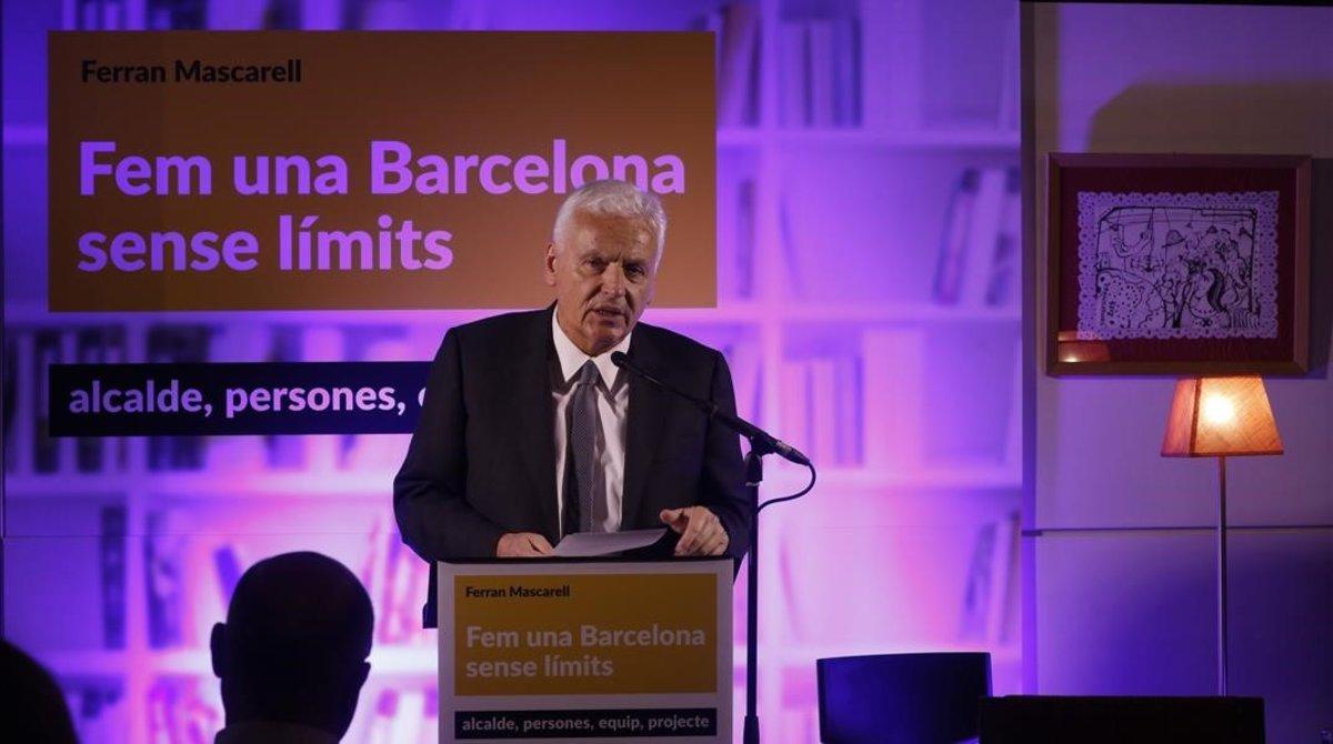 Mascarell es presenta com a candidat independent i independentista a l'alcaldia de Barcelona