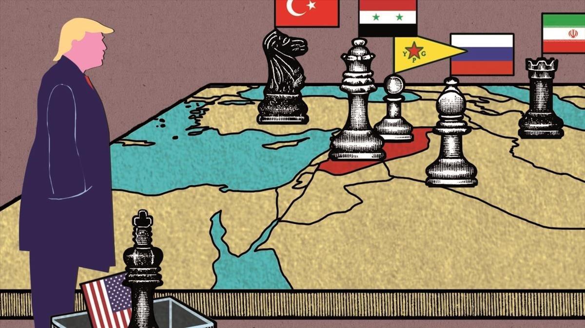 Trump en el laberinto sirio