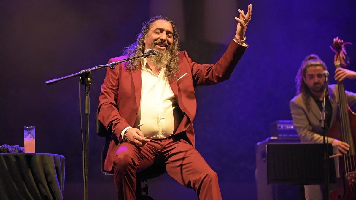 Diego el Cigala en el Festival de Pedralbes.