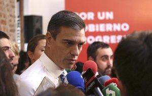 Sánchez eixampla els seus recolzaments a la recerca d'un govern en solitari