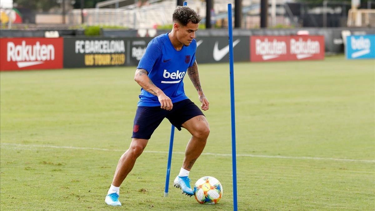 Es busca equip per a Coutinho després del tancament de les portes de la Premier