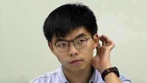 La cara visible de les protestes a Hong Kong posa rumb a Alemanya