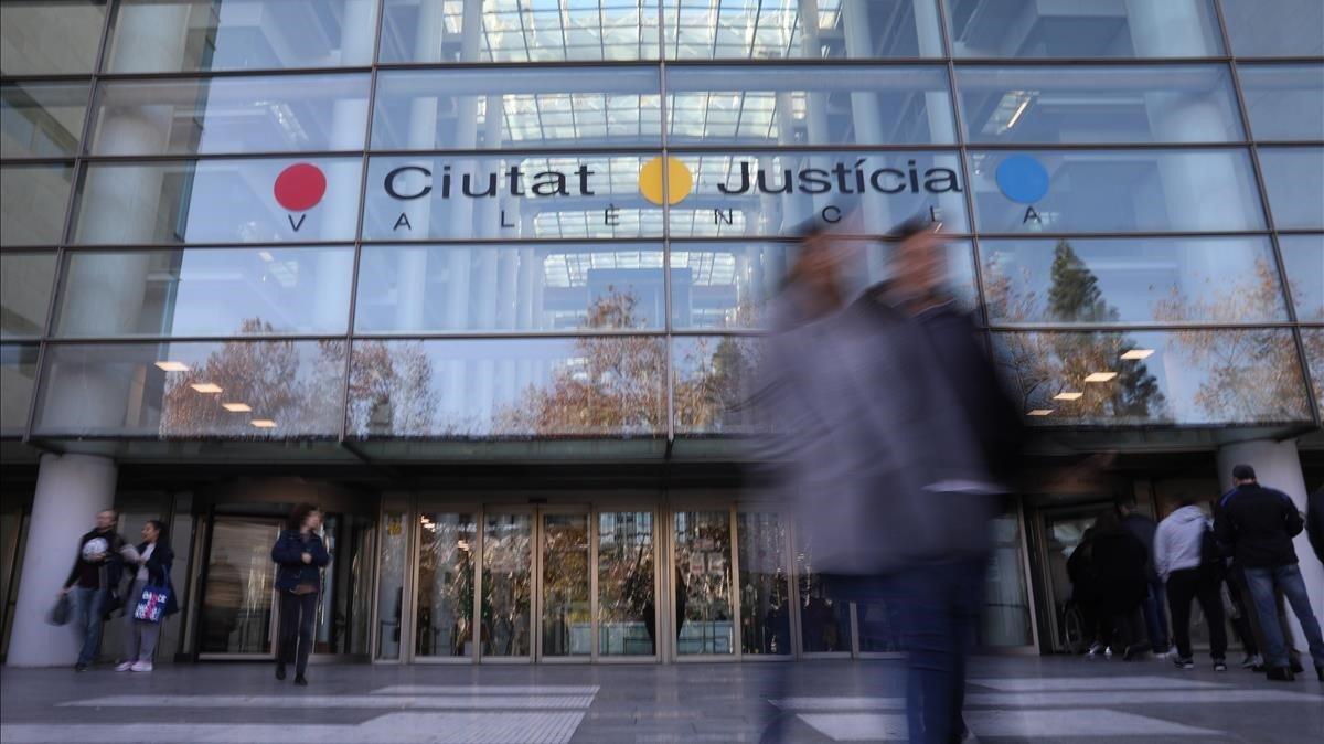 Imagen de la Ciudad de la Justicia de Valencia