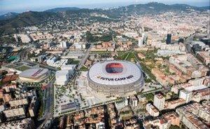 Ambito de transformación del entorno del Camp Nou.