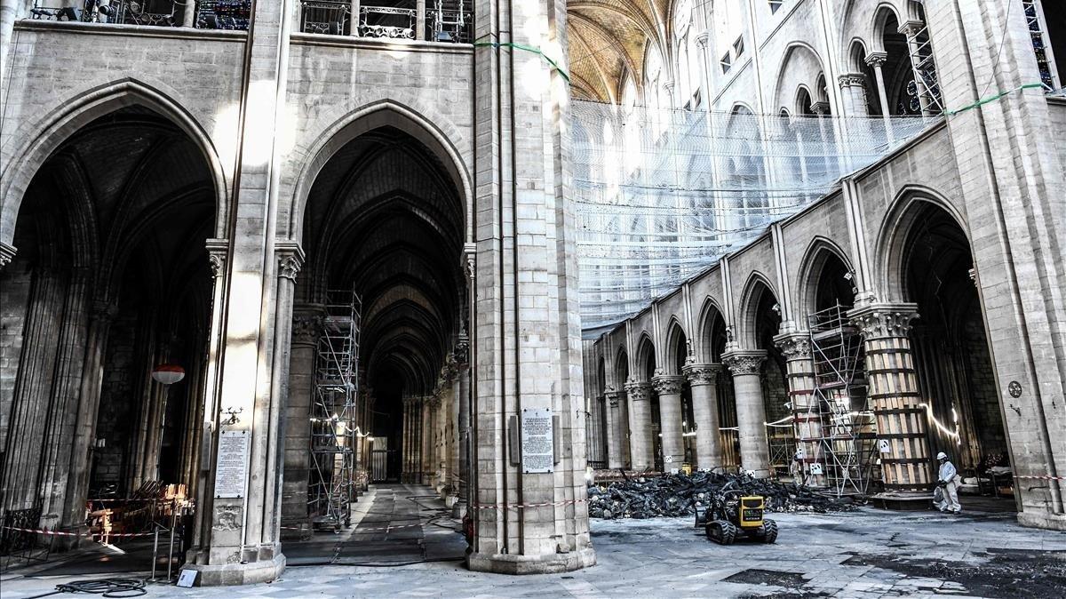 La ciència es bolca en la reconstrucció de Notre-Dame