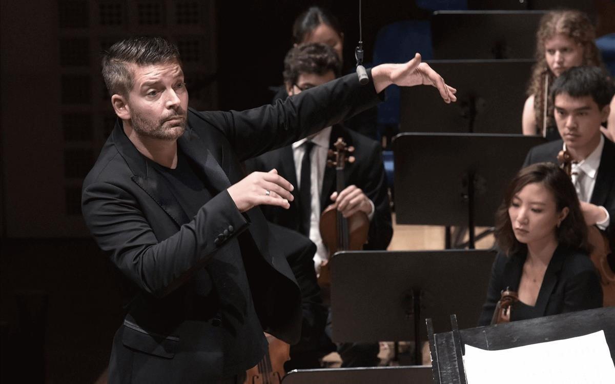 El director y compositor alemán Matthias Pintscher.