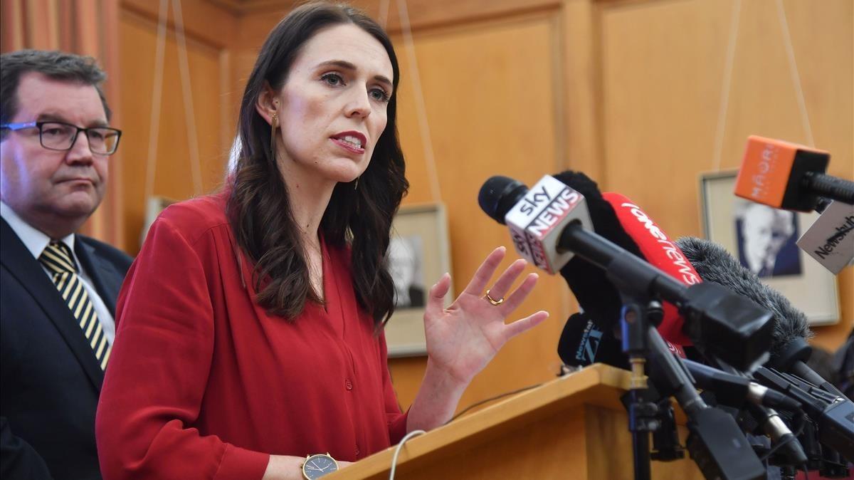 Resultado de imagen para La primera ministra de Nueva Zelanda, Jacinda Ardern