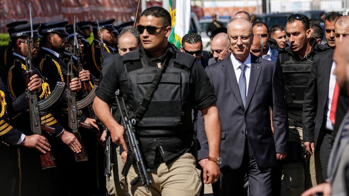 primer ministro palestinop rami hamdala