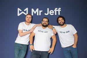 El equipo fundador de Mr. Jeff.