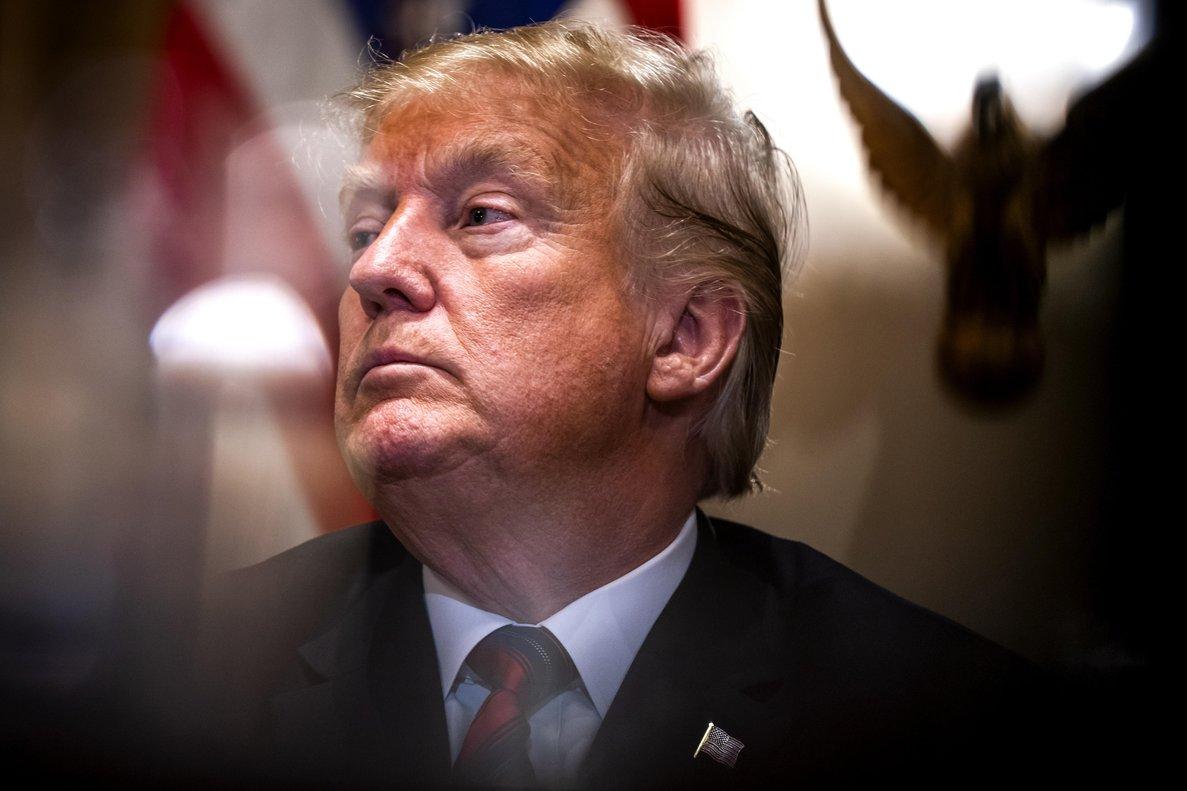El presidente estadounidense, Donald Trump, se definió de nuevo como un líder nacionalista.