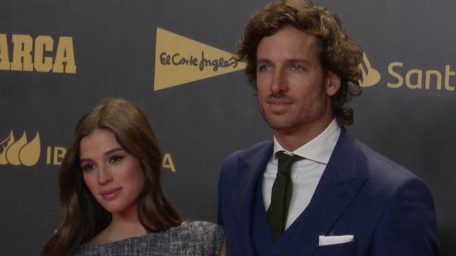 Feliciano López i Sandra Gago es comprometen