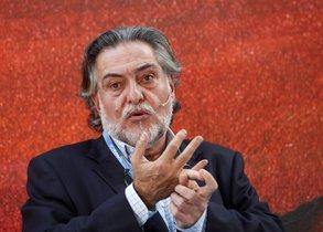 El precandidato del PSOE al Ayuntamiento de Madrid, Pepu Hernández.