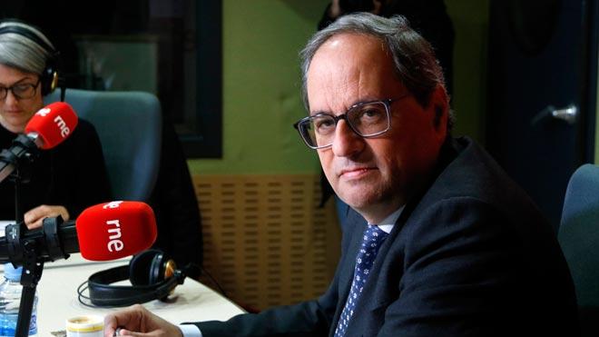 """Torra contesta a Pascal: """"Catalunya es dirigeix des del Palau de la Generalitat"""""""