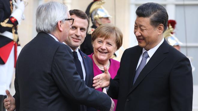Macron demana a Pequín respectar la unitat de la Unió Europea