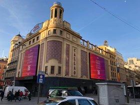 Los cines Callao de Madrid.