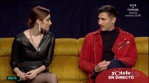 Adara y Gianmarco en el búnker de 'El tiempo del descuento'.