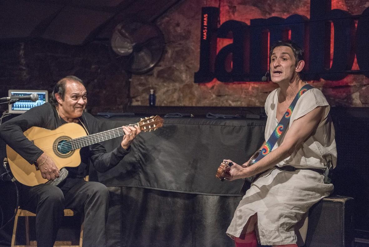Albert Pla i Diego Cortés, a la sala Jamboree.