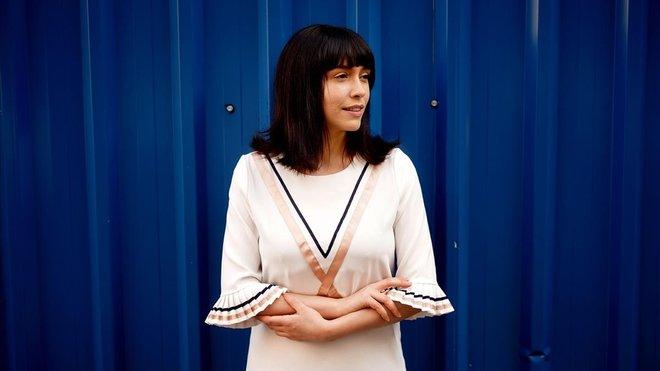 Alice Waddington, fotografiada esta semana en Madrid