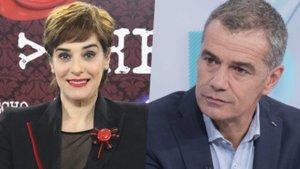 Anabel Alonso y Toni Cantó (Ciudadanos).
