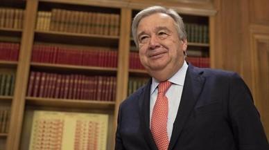 Antonio Guterres, un defensor de los refugiados al frente de la ONU