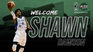 El anuncio del fichaje de Shawn Dawson.