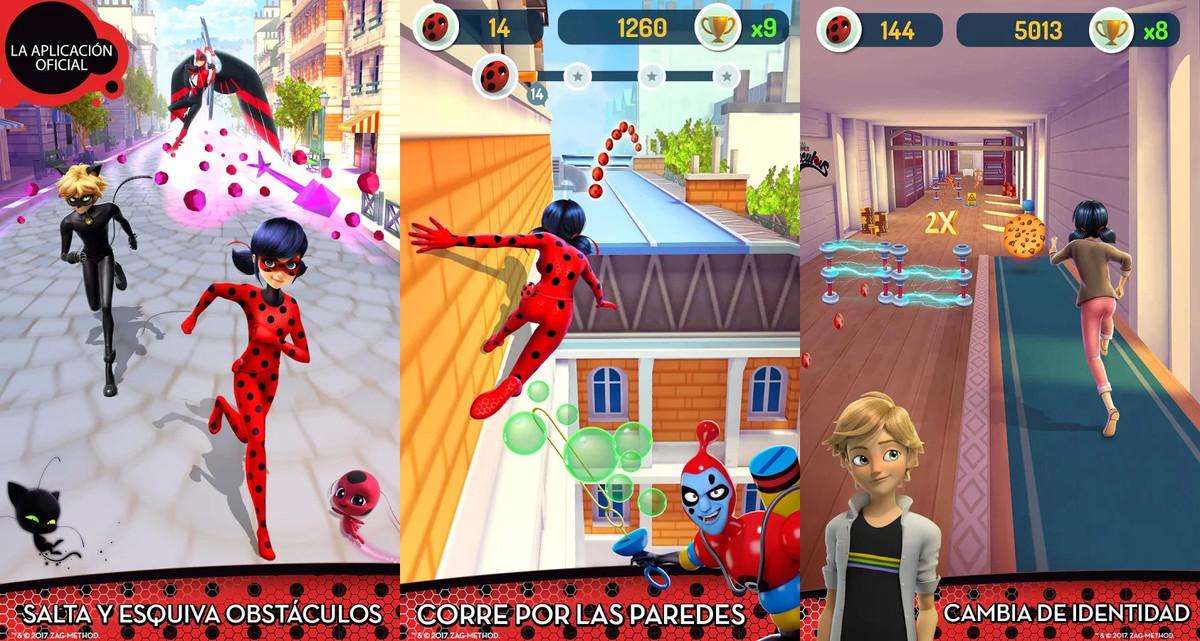 La app de Miraculous Ladybug.