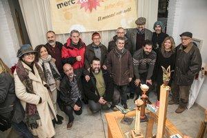 Artistas participantes del MercArt de Rubí