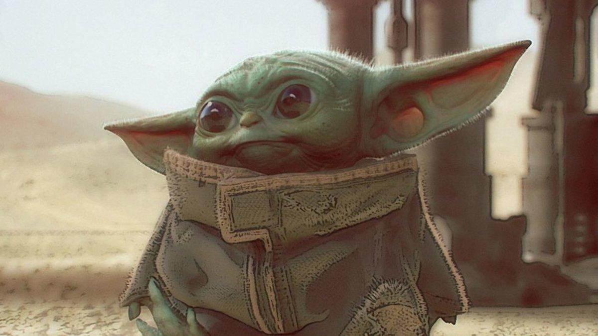 Baby Yoda, la estrella de 'The The Mandalorian' que ha conquistado las redes.