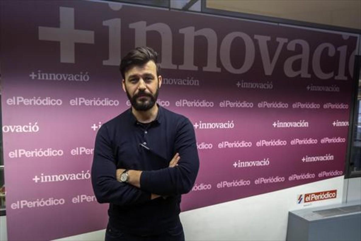ANTONIO RENOM. El consejero delegado de Levante Capital, en las instalaciones de EL PERIÓDICO, en Barcelona.