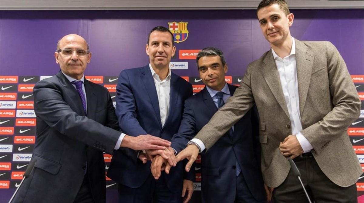 El Barça ficha a Nacho Rodríguez para remodelar la estructura del baloncesto