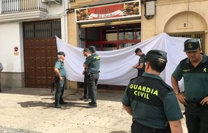 Bocatería donde se ha producido el tiroteo, en Valdepeñas.