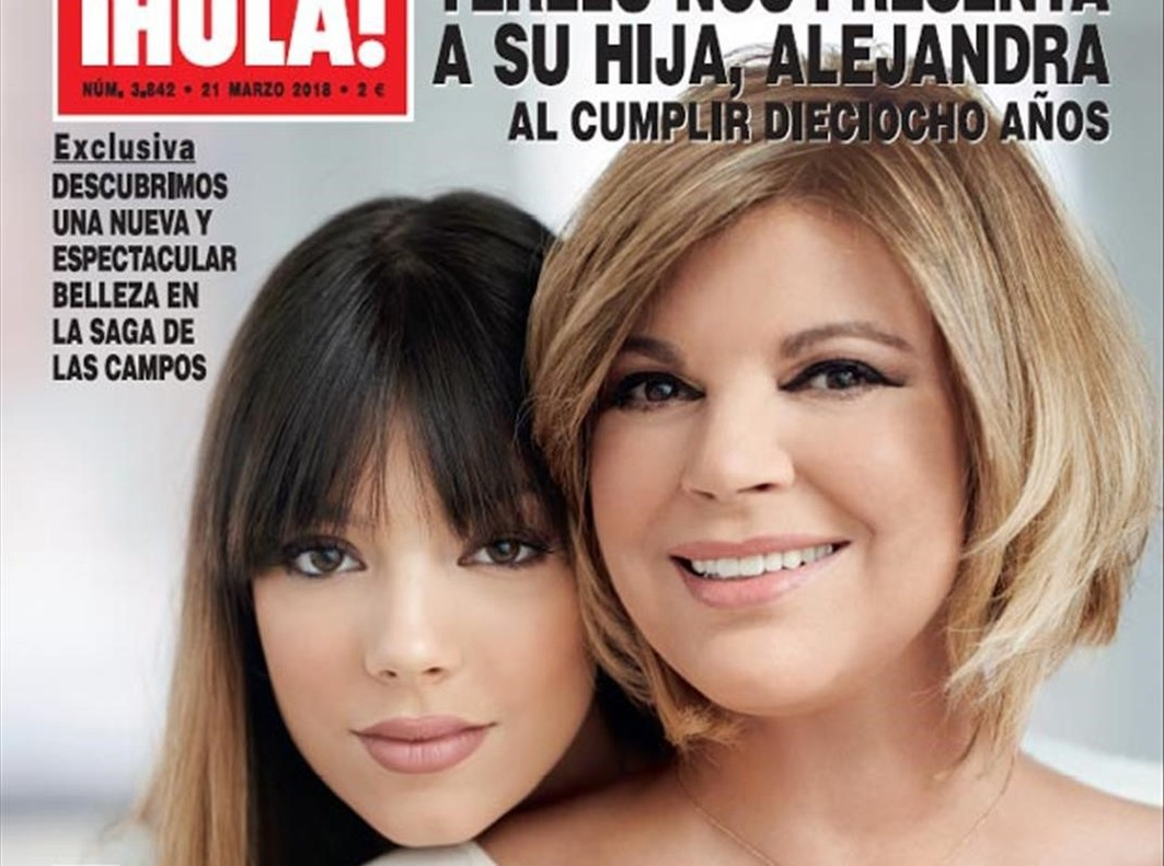 Terelu Campos presenta a su hija en la portada de ¡Hola!.