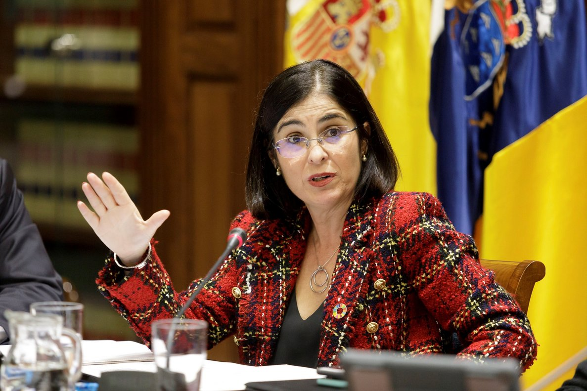 Carolina Darias, en diciembre del 2019.