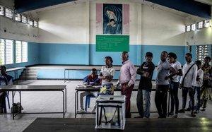 Colegio electoral del distrito de Kinshasa.