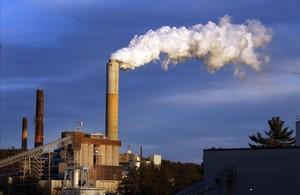 Una central tèrmica alimentada amb carbó, aNou Hampshire(Estats Units).