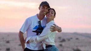 Cristiano Ronaldo y su chica, Georgina Rodríguez.
