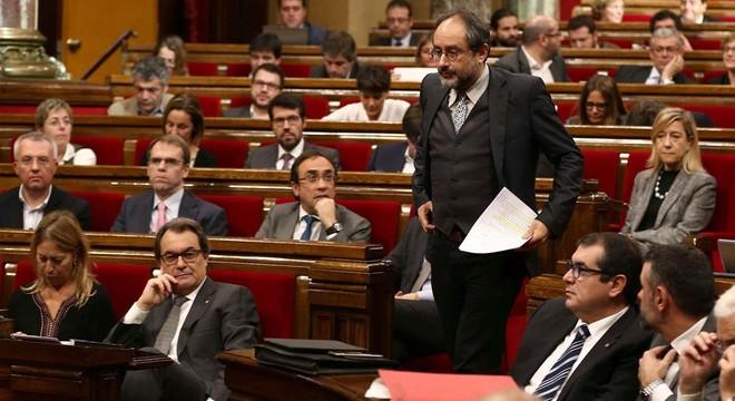 """Artur Mas recibe un """"no tranquilo"""" de la CUP y pierde la segunda votación de investidura"""