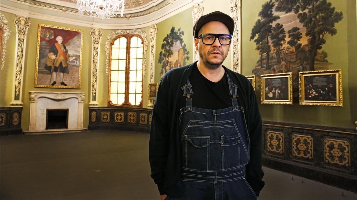 El director de La Virreina, Valentín Roma, en el centro cultural de la Rambla.