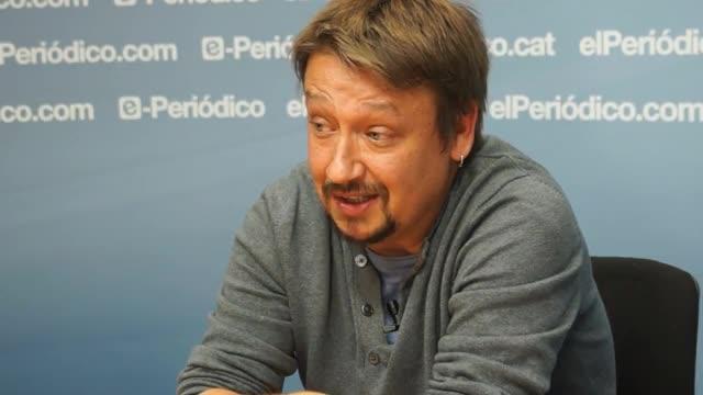El candidato de En Comú Podem habla para el Periódico
