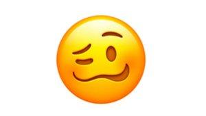 Uno de los nuevos emoticionos de Apple