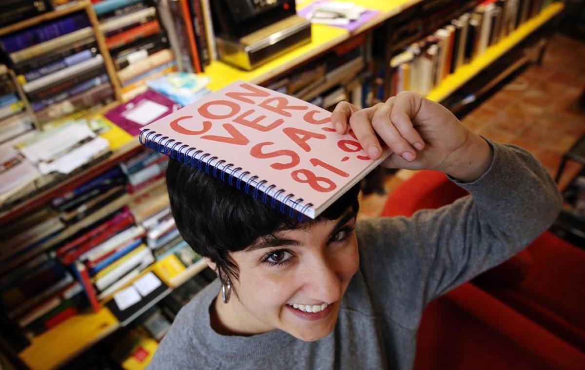 Erica Volpini, una de las impulsoras de 'Conversas' en Barcelona.