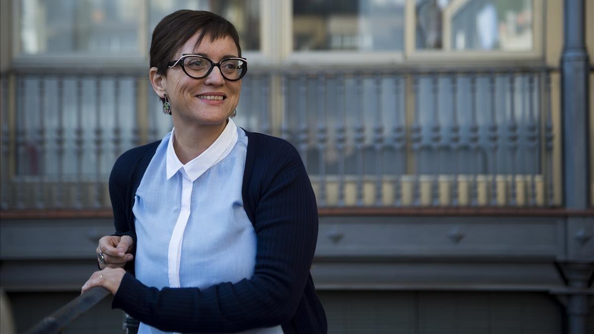 La escritora barcelonesa radicada en el Ampurdà Mercè Cuartiella.
