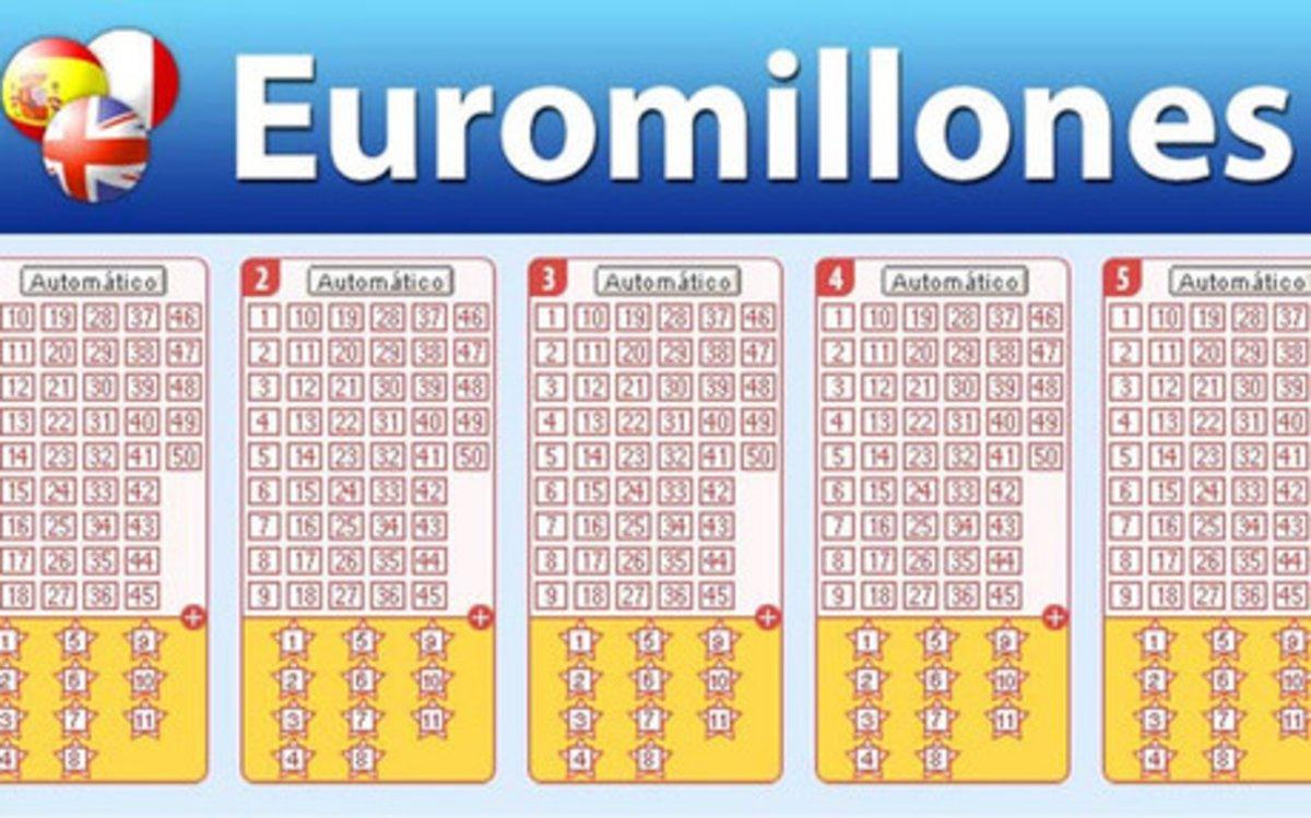 Euromillones: combinación ganadora del 22 de octubre de 2019, martes