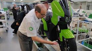 Fábrica de Silence de motos eléctricas en Molins de Rei.