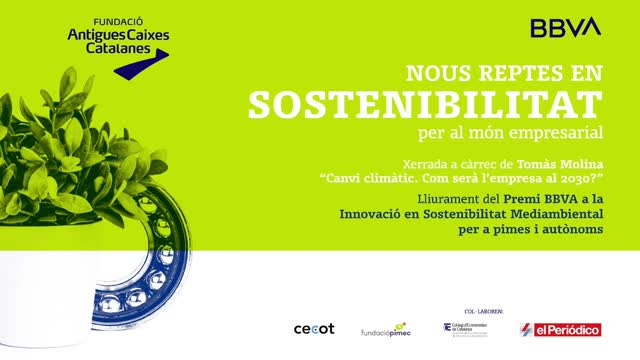 La FACC y BBVA presentan: Nuevos retos en sostenibilidad para el mundo empresarial.