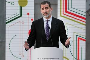 """El Rey aboga por preparar mejor a los jóvenes para la """"economía automatizada"""""""